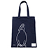 tote bag - Modigliani by Yu Nagaba - navy / small
