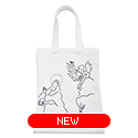 tote bag - El Greco by Yu Nagaba - white / small