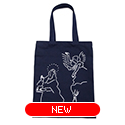 tote bag - El Greco by Yu Nagaba - navy / small