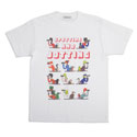 GASBOOK tee / Matt Sewell(Men's)