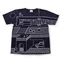 T by GASBOOK / ALL The Fruits  (Navy)