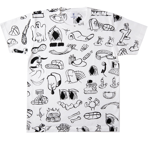 T by GASBOOK / Lung (white)