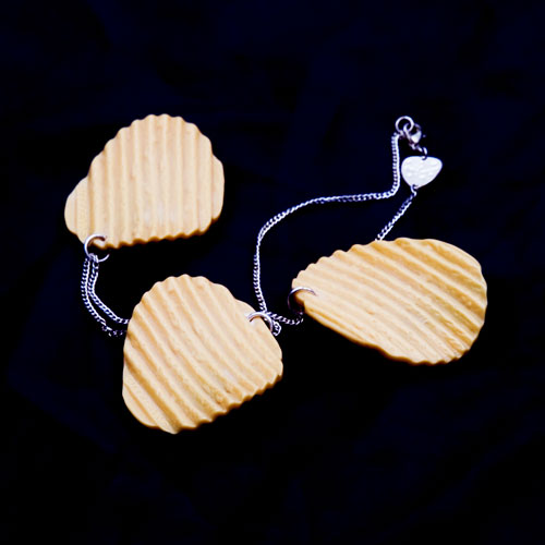 Triple Crisp Necklace/Tatty Devine