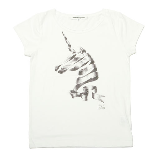 ribbon-unicorn Tシャツ [Ladies] / Jonathan Zawada