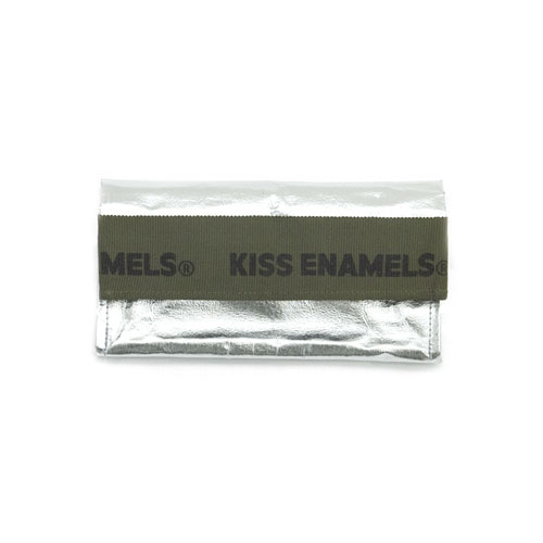 KISS aluminium wallet / long / khaki