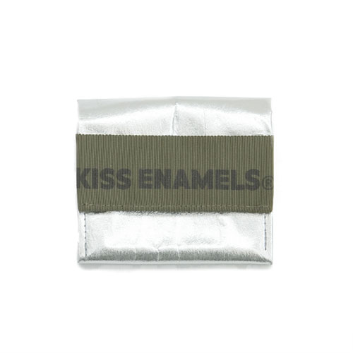 KISS aluminium wallet / khaki/ short